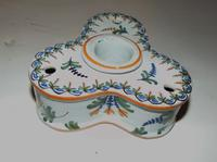 French Faience Inkstand c.1820