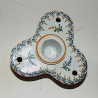 French Faience Inkstand c.1820 (2 of 6)