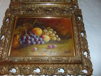 Pair of Still Life Oil on Canvas by H.L.Lewis (10 of 11)