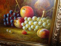 Pair of Still Life Oil on Canvas by H.L.Lewis (5 of 11)