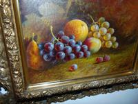Pair of Still Life Oil on Canvas by H.L.Lewis (6 of 11)