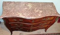 French Louis XV Style Kingwood Commode (2 of 9)
