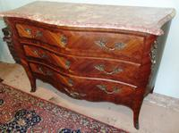 French Louis XV Style Kingwood Commode (9 of 9)
