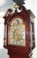 Georgian Mahogany Longcase Clock (3 of 15)