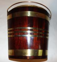 Georgian Mahogany Brass Bound Bucket (7 of 7)