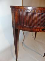 Dutch Mahogany Half Round Side Table (5 of 8)