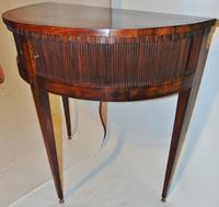 Dutch Mahogany Half Round Side Table (6 of 8)