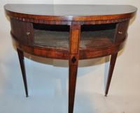 Dutch Mahogany Half Round Side Table (7 of 8)