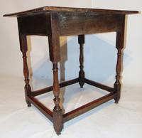 Early 18th Century Oak Side Table (7 of 7)