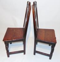 Pair Stuart Oak Side Chairs (2 of 7)
