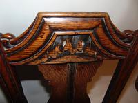 Pair Stuart Oak Side Chairs (7 of 7)