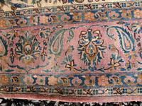 Antique Persian Ispahan All Silk Rug (10 of 11)