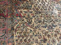 Antique Persian Ispahan All Silk Rug (2 of 11)