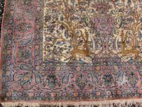 Antique Persian Ispahan All Silk Rug (3 of 11)