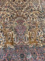 Antique Persian Ispahan All Silk Rug (4 of 11)