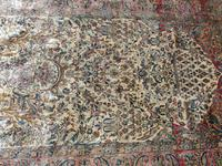 Antique Persian Ispahan All Silk Rug (5 of 11)