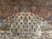 Antique Persian Ispahan All Silk Rug (7 of 11)
