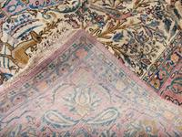 Antique Persian Ispahan All Silk Rug (8 of 11)