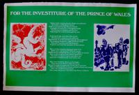 Prince of Wales Investiture Poster / July 1st 1969