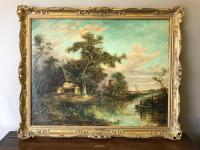 Large Quality Oil Painting by Joseph Paul