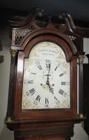 18th Century Mahogany 8 Day Longcase / Grandfather Clock (4 of 8)