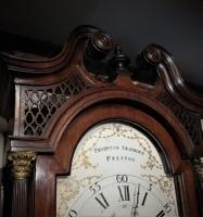 18th Century Mahogany 8 Day Longcase / Grandfather Clock (7 of 8)