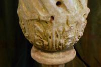 18th Century Carved Stone Garden Urn (4 of 5)