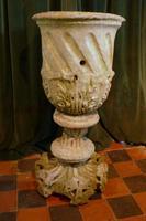 18th Century Carved Stone Garden Urn (3 of 5)
