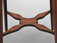 Pair of Sheraton Revival Mahogany & Inlaid Urn Stands (15 of 15)