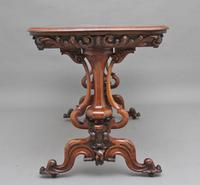 19th Century Burr Walnut Centre Table (6 of 11)