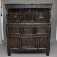 17th Century Oak Court Cupboard