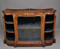 19th Century Burr Walnut Credenza (8 of 20)