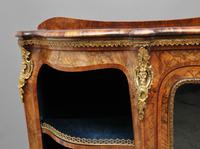 19th Century Burr Walnut Credenza (12 of 20)