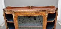 19th Century Burr Walnut Credenza (14 of 20)