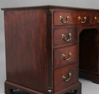 18th Century Mahogany Kneehole Desk (12 of 13)