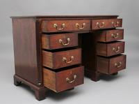 18th Century Mahogany Kneehole Desk (6 of 13)