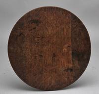 18th Century Oak Tripod Table (4 of 6)