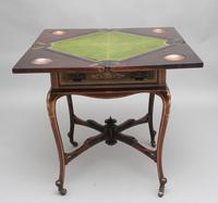 19th Century Inlaid Envelope Table (9 of 16)