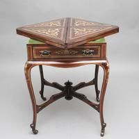 19th Century Inlaid Envelope Table (8 of 16)