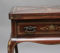 19th Century Inlaid Envelope Table (12 of 16)