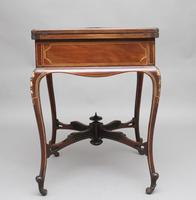 19th Century Inlaid Envelope Table (6 of 16)