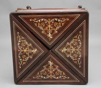 19th Century Inlaid Envelope Table (4 of 16)