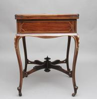 19th Century Inlaid Envelope Table (7 of 16)