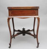 19th Century Inlaid Envelope Table (5 of 16)