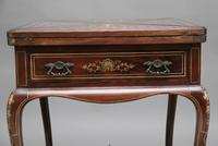 19th Century Inlaid Envelope Table (16 of 16)