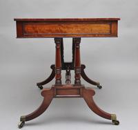 Early 19th Century Mahogany Library Table (5 of 12)