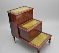 19th Century Mahogany Library Steps (4 of 11)