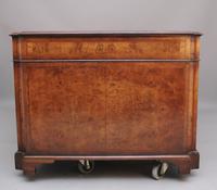 Early 20th Century Burr Walnut Desk (5 of 15)