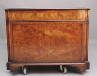Early 20th Century Burr Walnut Desk (9 of 15)