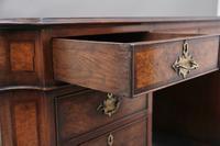 Early 20th Century Burr Walnut Desk (12 of 15)